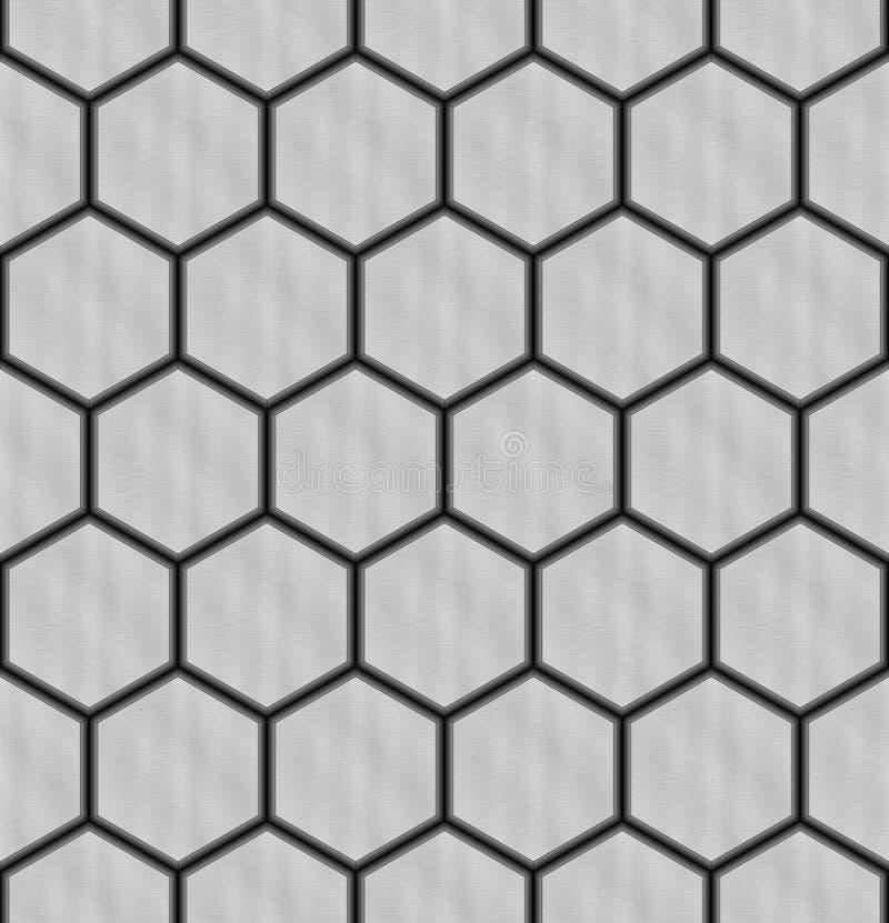 seamless bakgrundshex vektor illustrationer
