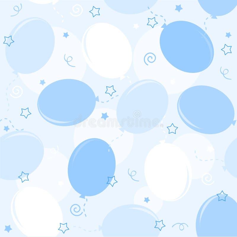 seamless ballongdeltagaremodell stock illustrationer