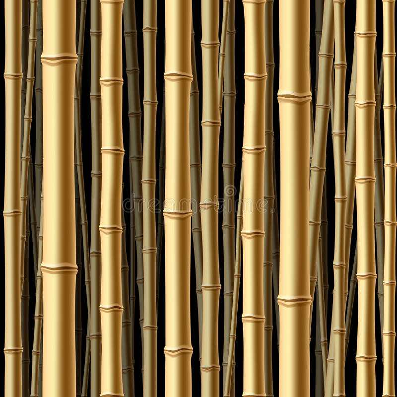 Free Seamless Bamboo Forest Royalty Free Stock Images - 14480099