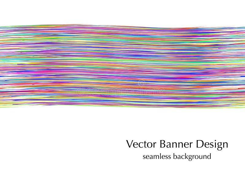 Seamless banner web. Business seamless banner for web design. horizontal vector illustration vector illustration