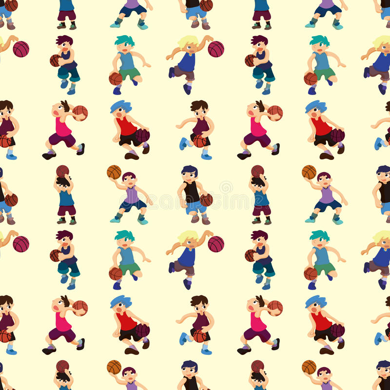 Download Seamless Basketball Pattern Stock Images - Image: 27772024