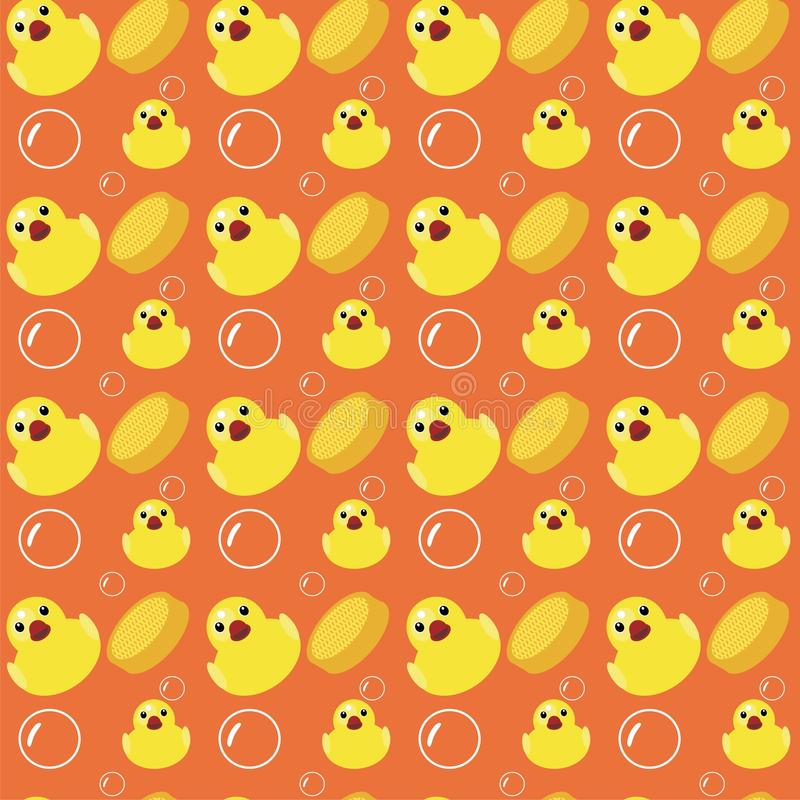Download Seamless bath background stock illustration. Illustration of sponge - 19817006