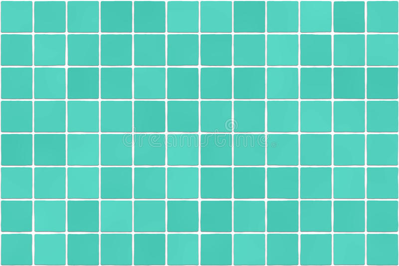 Seamless bathroom tiles mosaic texture. Background image. Realistic pattern. Blue color royalty free illustration
