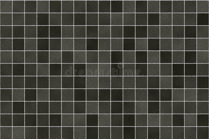 Seamless Bathroom Tiles Pattern Stock Illustration Illustration of