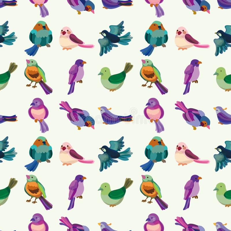Download Seamless Bird Pattern Stock Photo - Image: 27772030