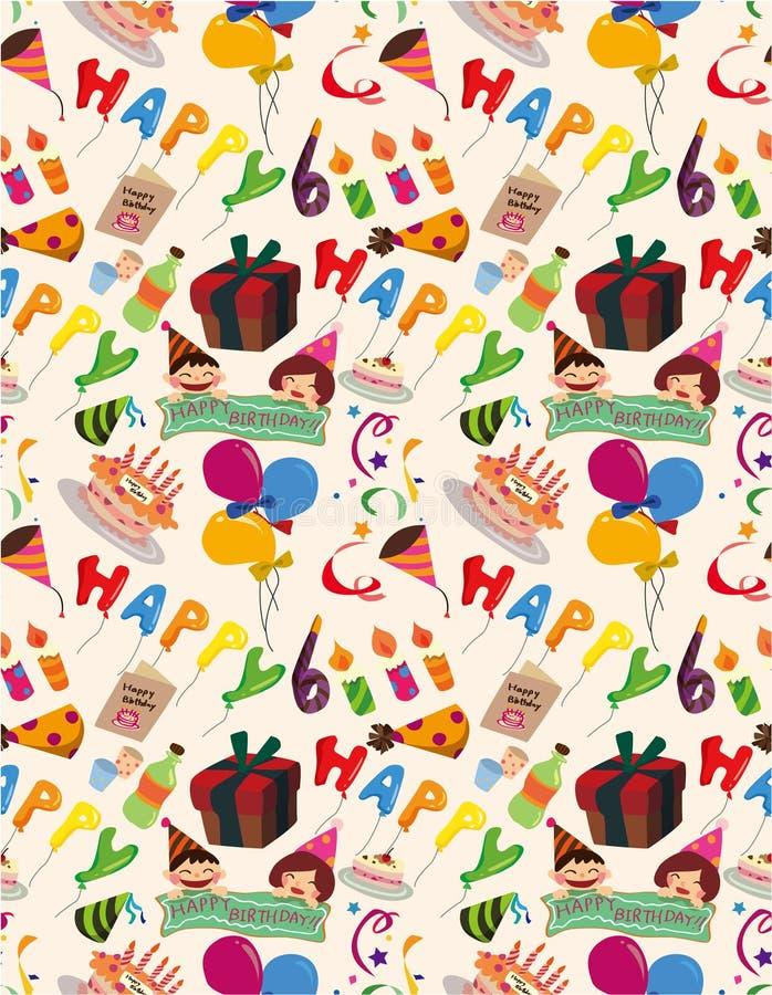 Download Seamless Birthday Pattern Royalty Free Stock Image - Image: 17598426