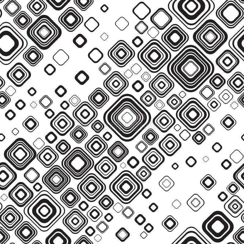 Free Seamless Black-and-white Pattern Royalty Free Stock Images - 20717709