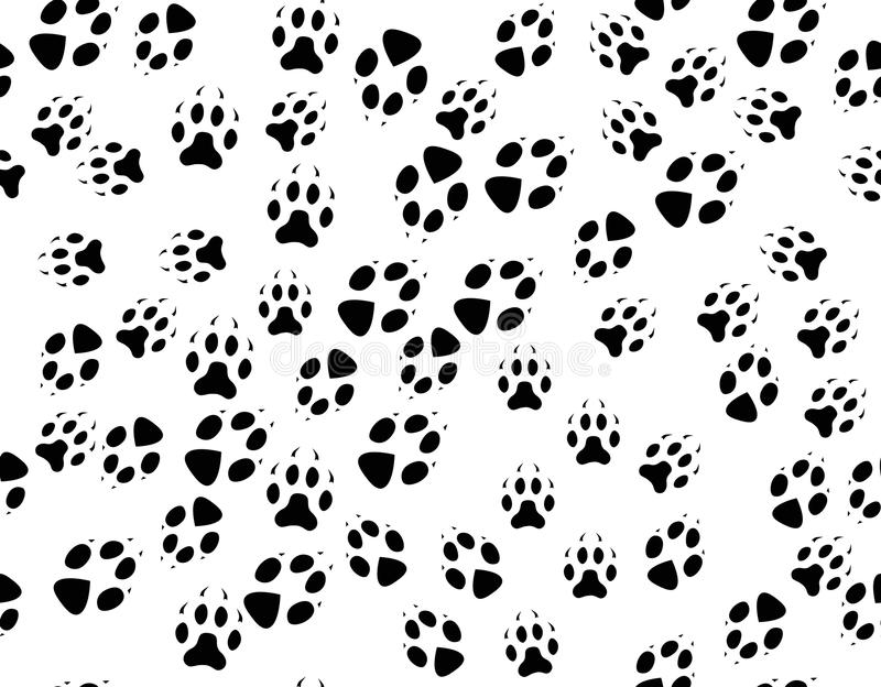 Animal Tracks Stock Vector Illustration Of Small Backgrounds