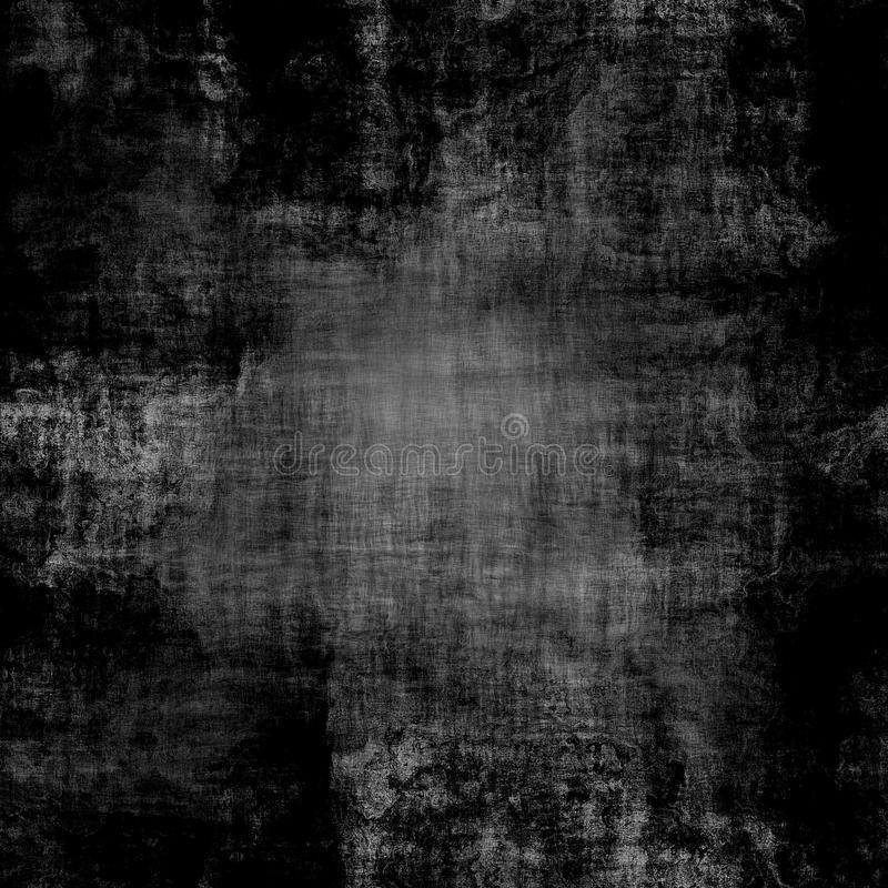 Seamless black dirty canvas texture vector illustration