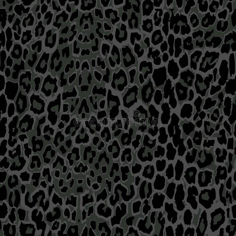 Seamless Black Leopard Print. Stock Vector - Illustration ... - photo#1