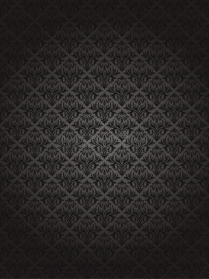 Free Seamless Black Pattern Stock Photography - 29092172