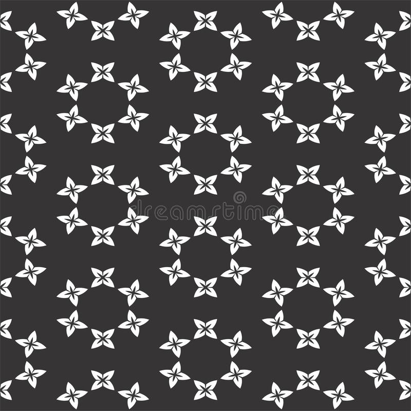 Seamless black and white pattern. Seamless black and white desien patterns pattern many uses for printing,texture,printing etc royalty free illustration