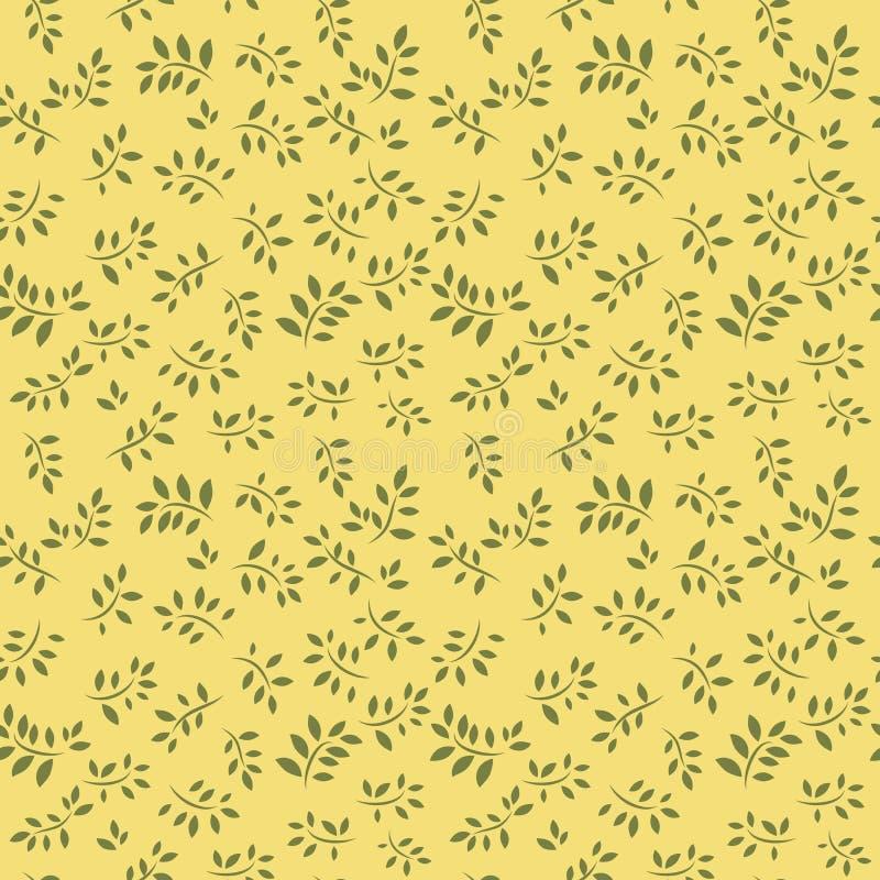 Download Seamless blom- bakgrund stock illustrationer. Illustration av renässans - 19782429
