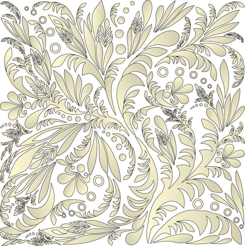 Seamless blom- bakgrund royaltyfri bild