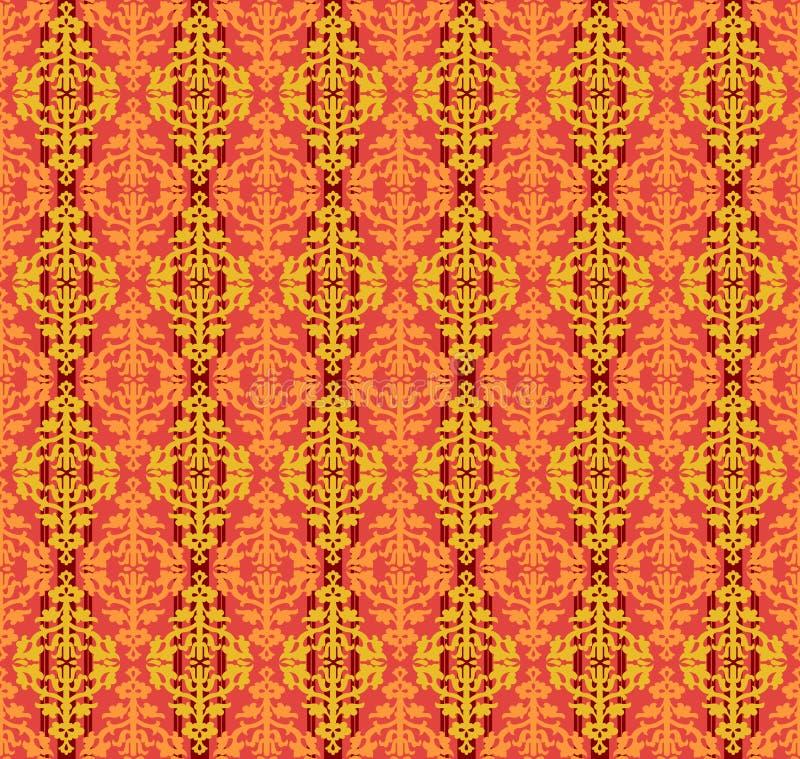 seamless blom- patten för bakgrundsfärg vektor illustrationer