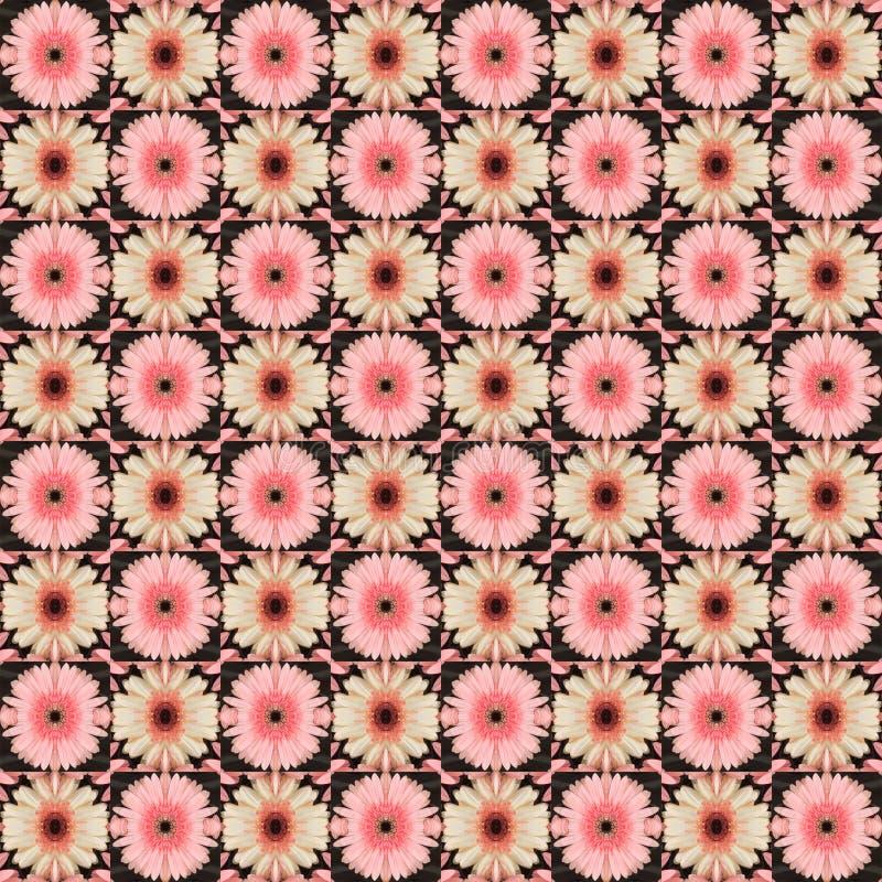 seamless blommamodell royaltyfri bild