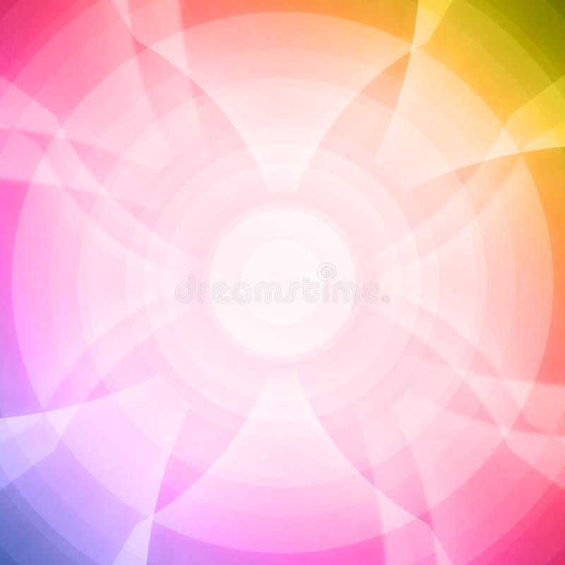 seamless blommamodellregnbåge royaltyfria bilder