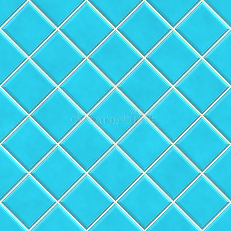 Seamless blue tiles texture background. Kitchen or bathroom concept vector illustration