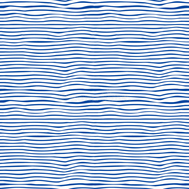Seamless blue and white stripes background stock photo