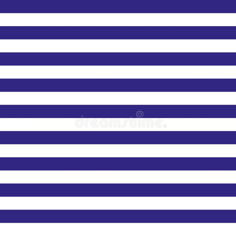 Seamless blue and white stripes, marine theme texture. Blue fabric and white line background, vector illustration vector illustration