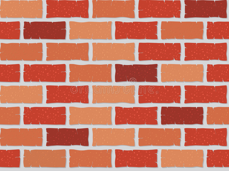 Download Seamless brick wall stock vector. Illustration of background - 9004871