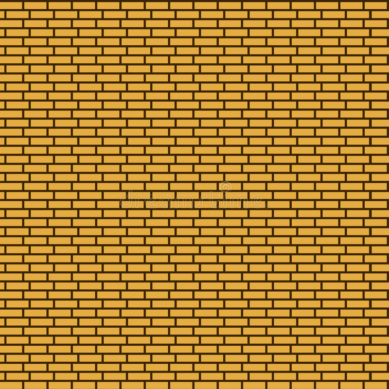 Seamless brick wall background. Endless texture can be used for printing onto fabric, paper or scrap booking, wallpaper, pattern fills, web page background stock illustration
