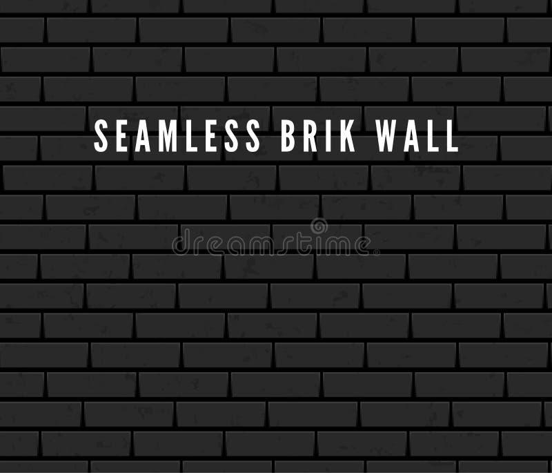 Seamless Brick Wall Surface. Old Grey Brick Wall Background. Urban Wall Texture. Vector Illustration vector illustration