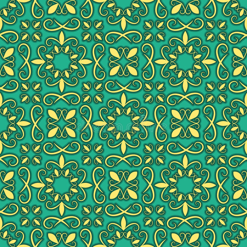 Seamless Bright Pattern Royalty Free Stock Photography