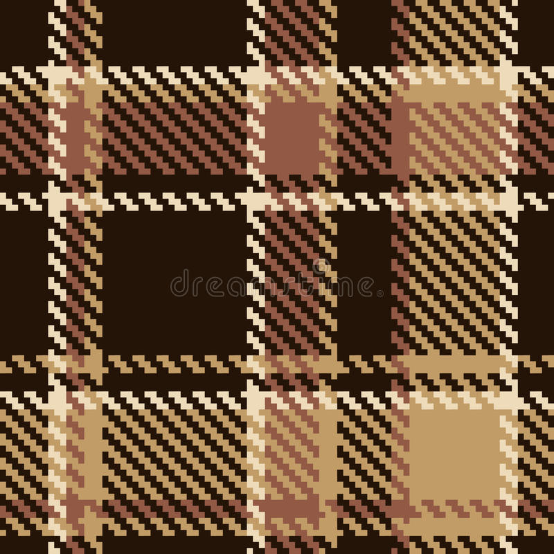 Free Seamless Brown Abstract Pattern Royalty Free Stock Photography - 18584307