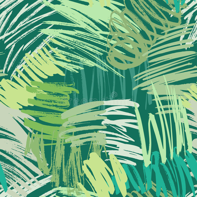 Seamless brush strokes pattern royalty free illustration