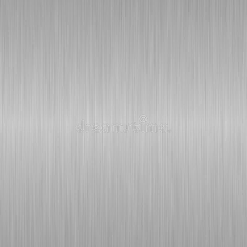 Free Seamless Brushed Silver Metallic Steel Background Stock Image - 13510691
