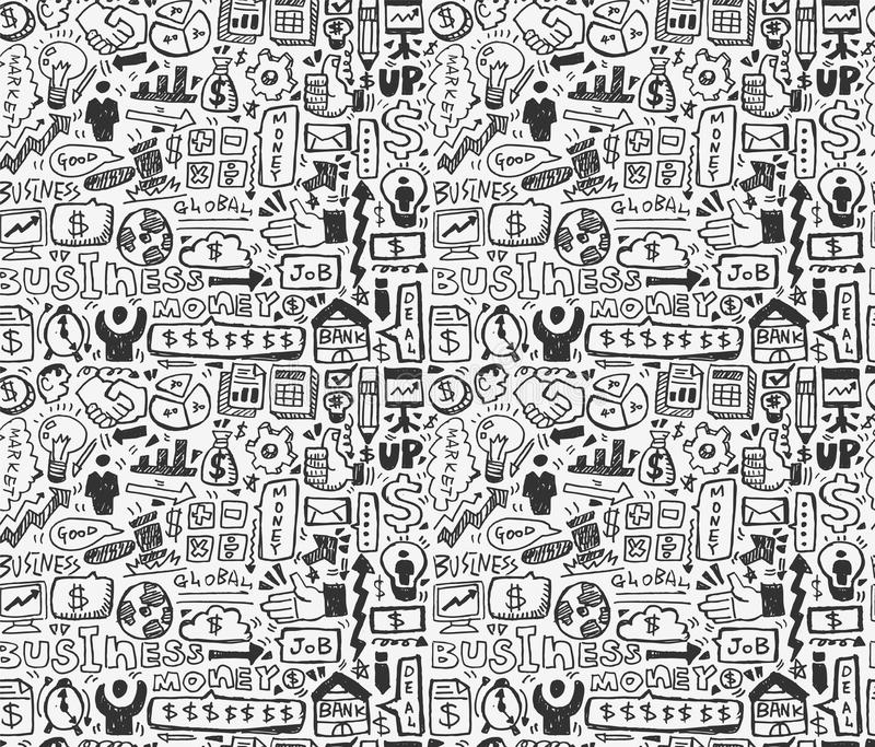 Download Seamless business pattern stock vector. Image of making - 31280434