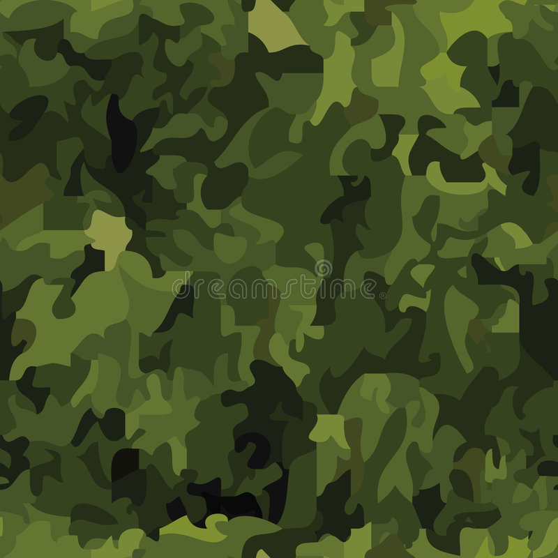 Download Seamless Camouflage Background Stock Vector - Image: 8661184