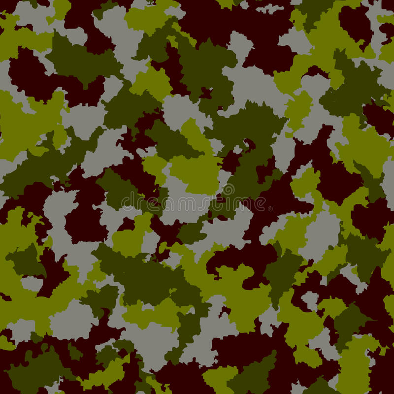 Seamless camouflage pattern. Vector-Illustration vector illustration