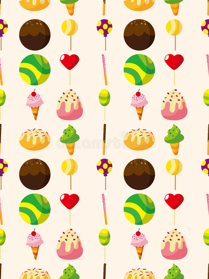 Download Seamless Candy Pattern Stock Images - Image: 27898624