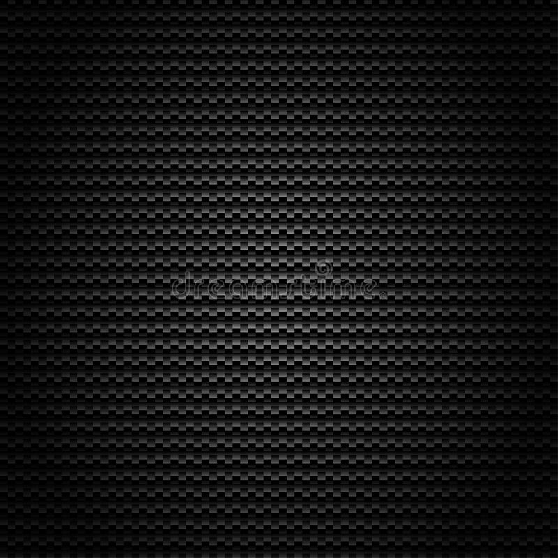 Seamless Carbon Fiber Vector Background