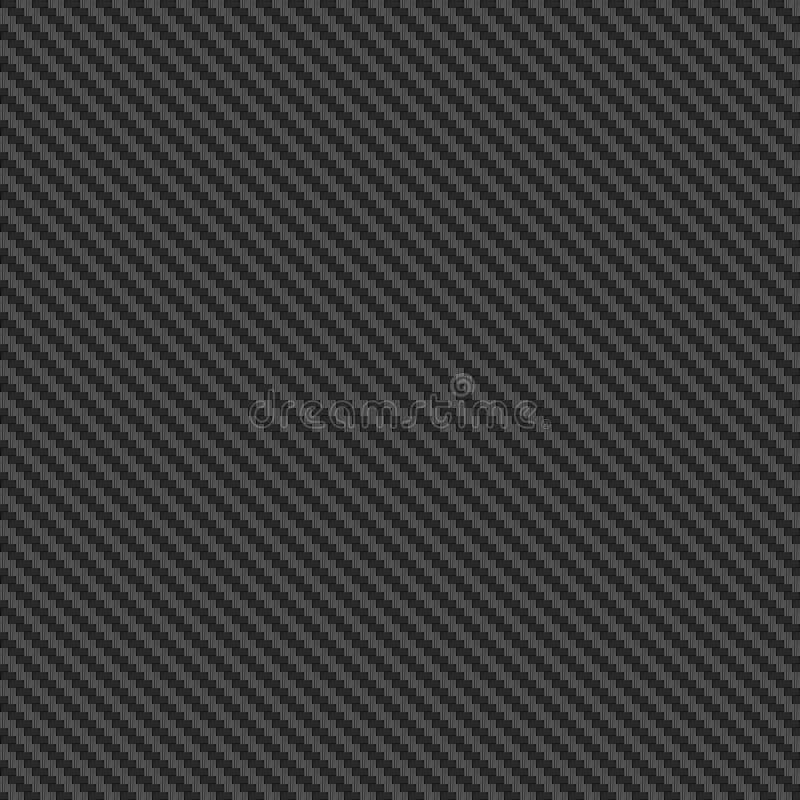 Seamless carbon texture. Durable carbon fiber vector illustration