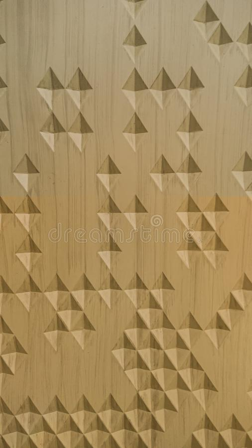 Seamless carving wood pattern natural color in diamond shape by craftmanship /seamless texture / abstract background material / ha. Ndmade stock images