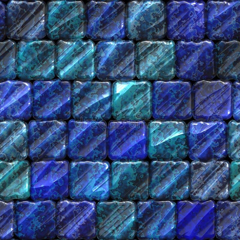 Seamless ceramic tile bathroom or pool texture stock photo