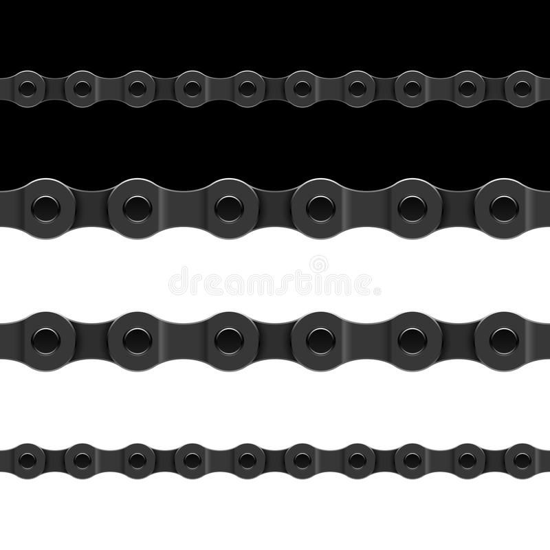 Download Seamless chain stock vector. Image of strong, horizontal - 22410515