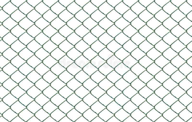 Download Seamless Chainlink Fence stock image. Image of green - 25221733