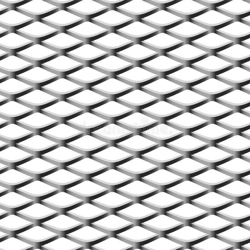 seamless chainlinkstaketillustration vektor illustrationer