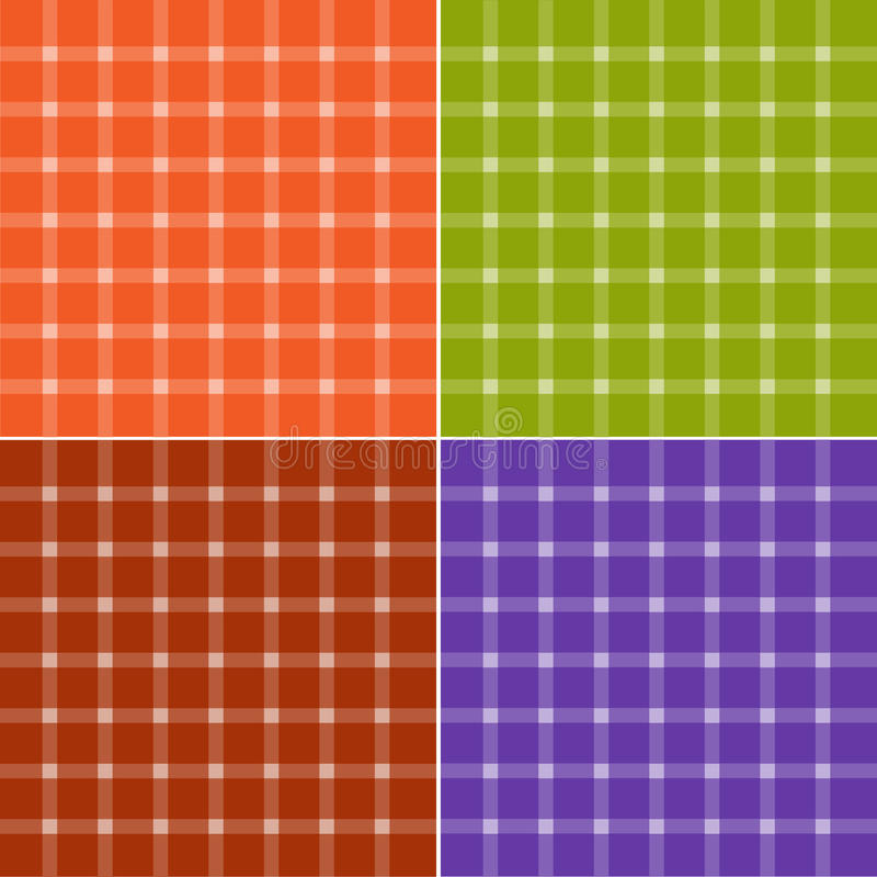 Download Seamless check patterns stock illustration. Illustration of crafts - 13114153