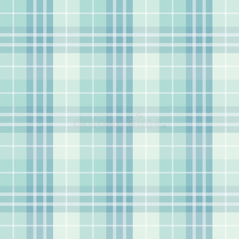 Seamless checked blue pattern stock illustration