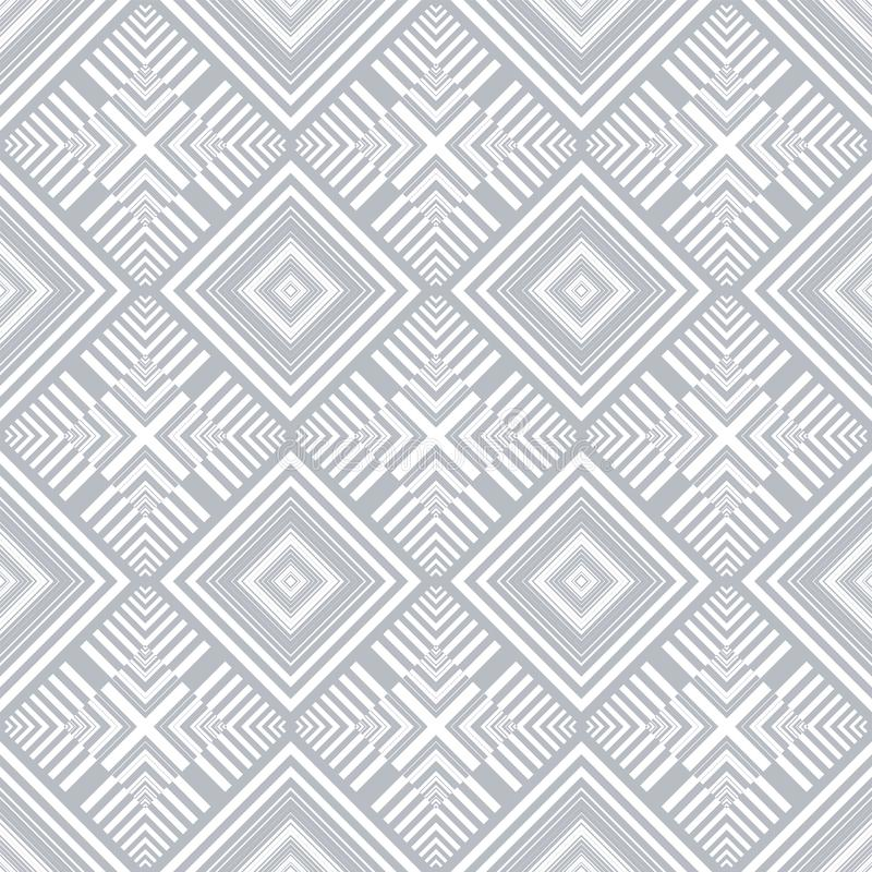 Seamless checked pattern. Geometric texture royalty free illustration