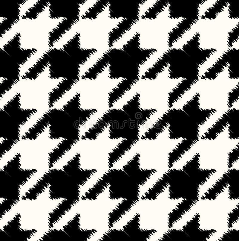Seamless checkered fabric pattern vector illustration