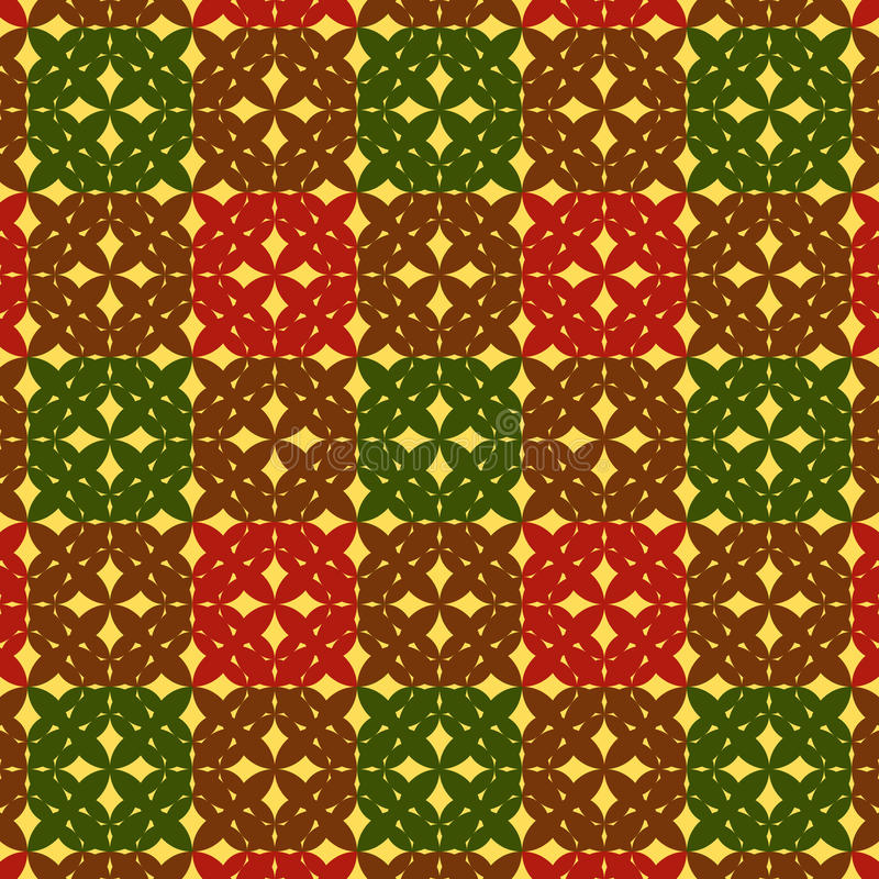 Download Seamless Checkered Pattern Stock Image - Image: 13261391