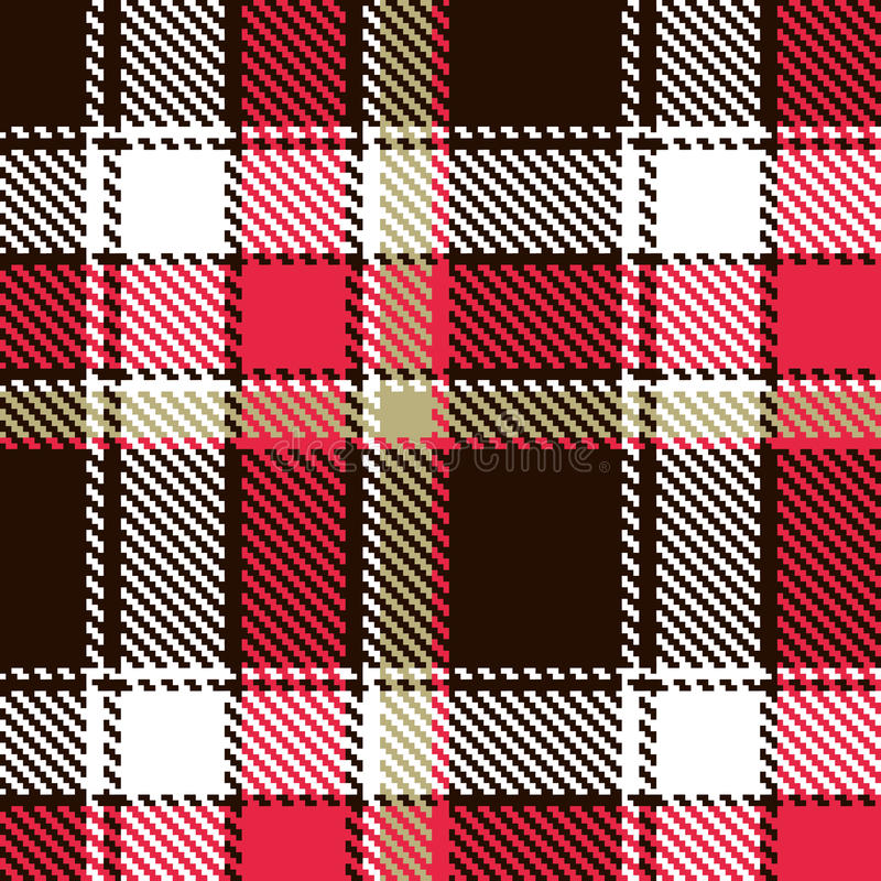 Download Seamless checkered pattern stock vector. Image of clothing - 15947062