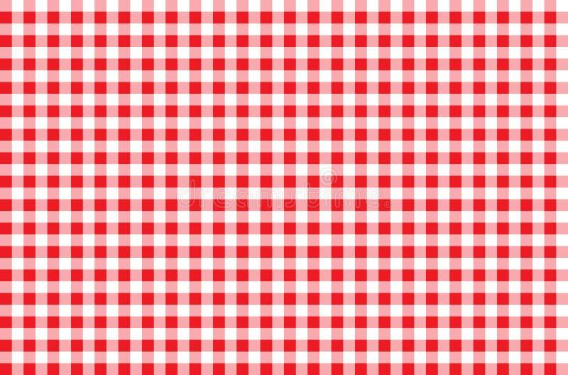 Seamless Checkered Pattern vector illustration