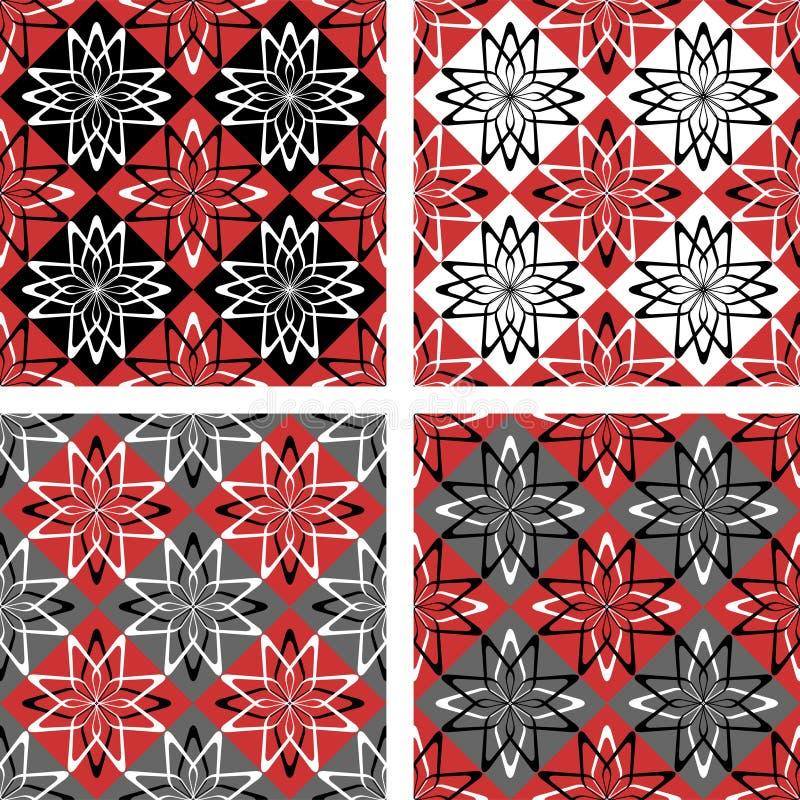 Seamless  checkered patterns.